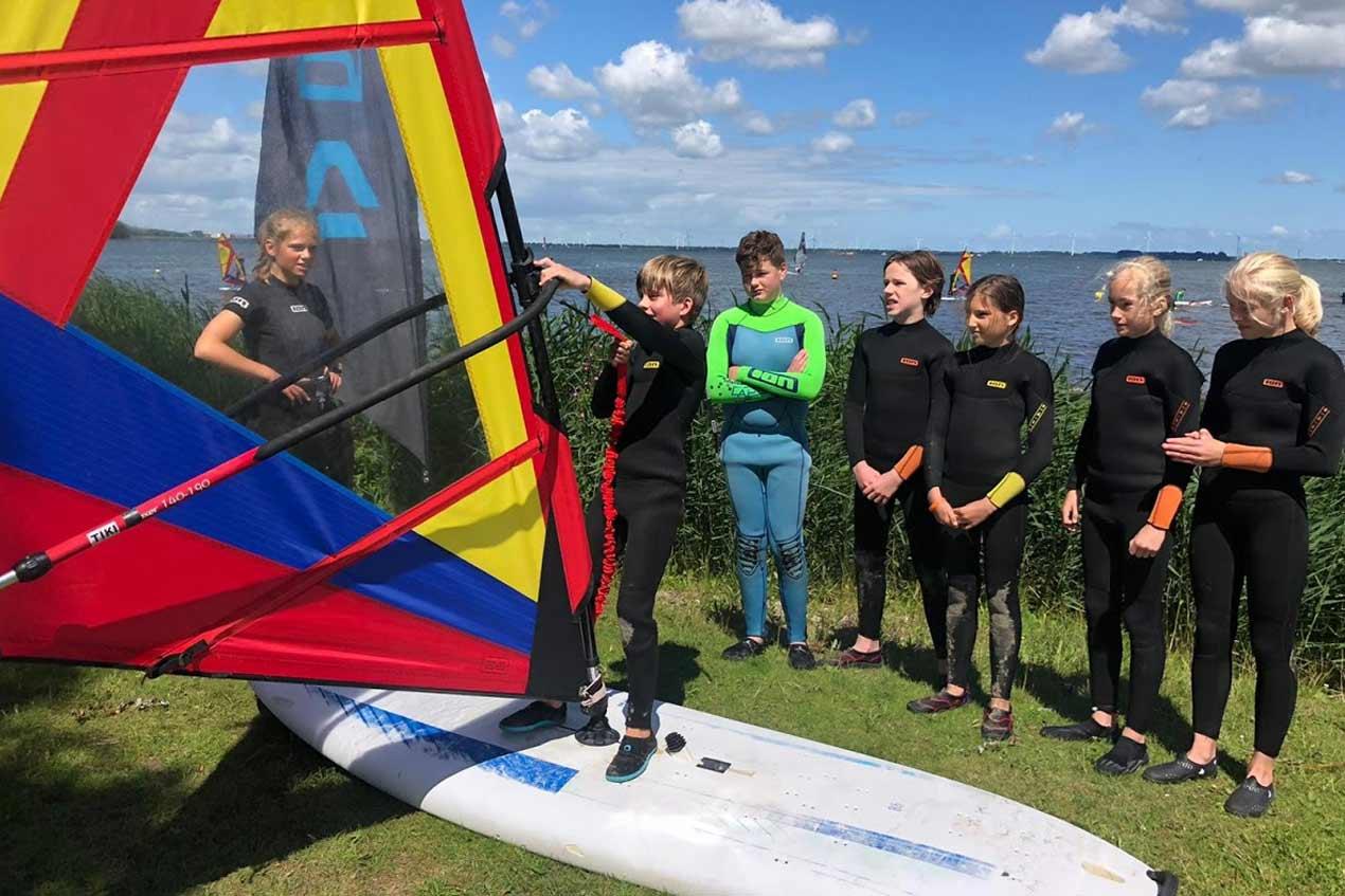 Windsurfen voor scholen