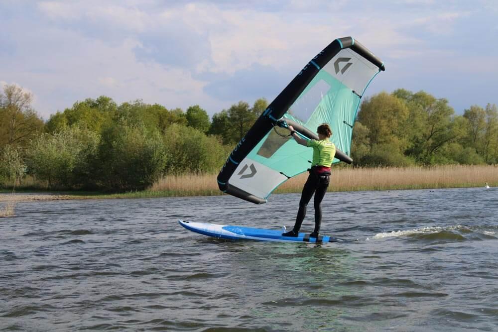 wingsurf clinic voor beginners